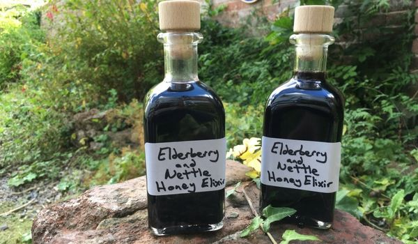 With Autumn definitely on its way, and the sun starts setting early, now is the perfect time to give you body a boost with this delicious, nourishing and health-boosting elixir. I've been making it for quite a few weeks using dried elderberries from last year, and dried nettle that I had gathered this Spring. I …
