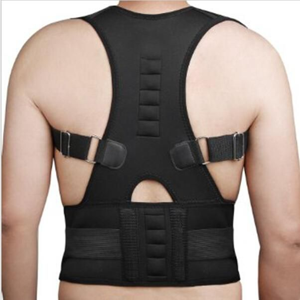 [Visit to Buy] Magnetic Therapy Posture Corrector Brace Shoulder Back Support Belt for Men Women Braces & Supports Belt Shoulder Posture #Advertisement