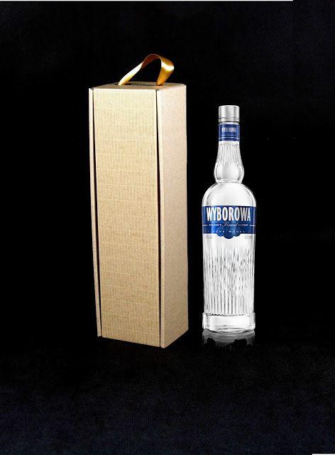 pudełko na butelkę wódki