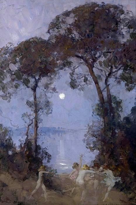 'Pastoral', 1930 - Arthur Streeton (1867-1943)
