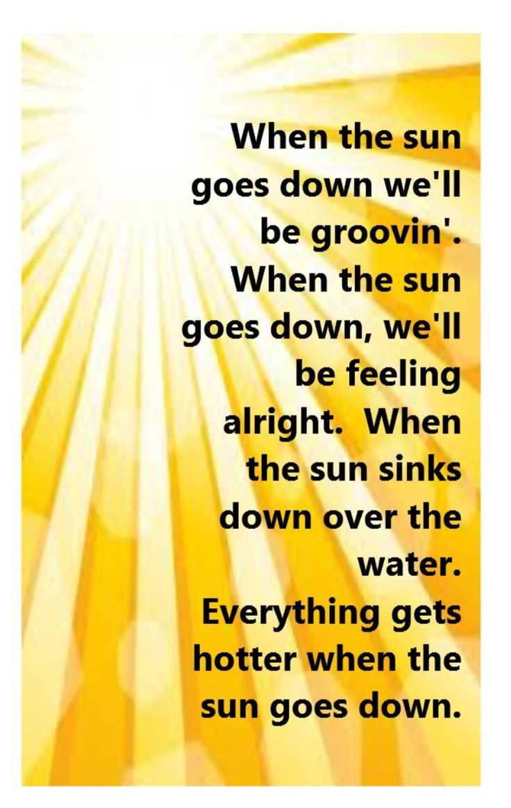 Kenny Chesney & Uncle Kracker - When the Sun Goes Down - song lyrics, song quotes, songs, music lyrics, music quotes,