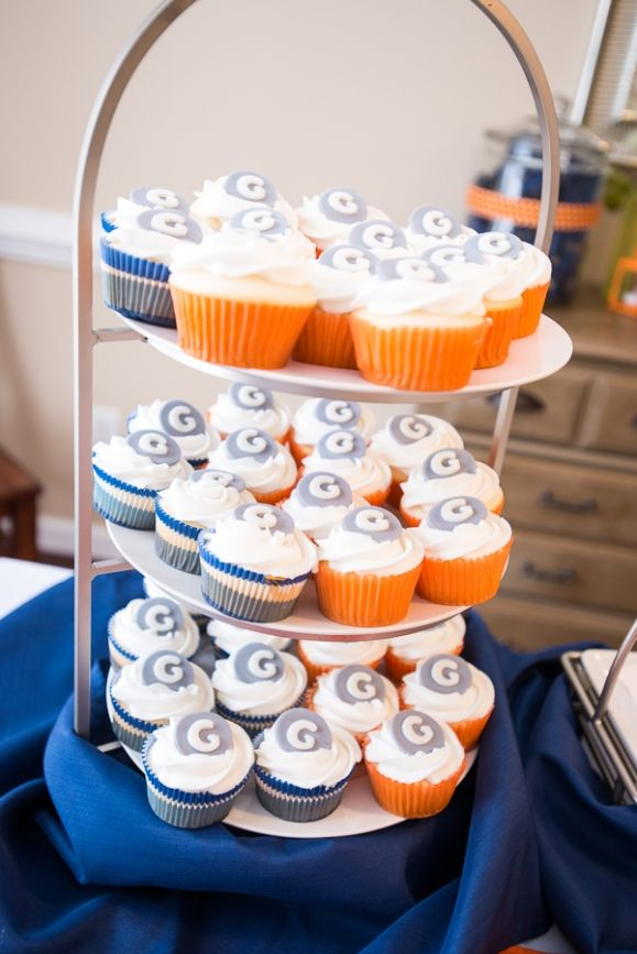 images about navy blue orange baby shower on pinterest navy blue