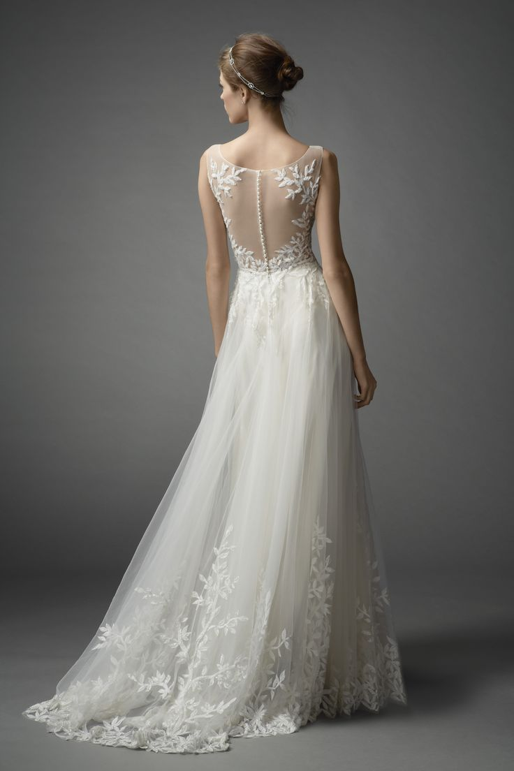 Watters Lalai gown #weddingdress #spring2015