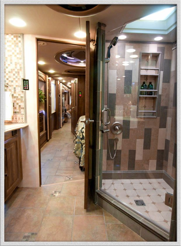 44 Best Extravagant Rv Interiors Images On Pinterest Motor Homes Rv Campers And Wheels