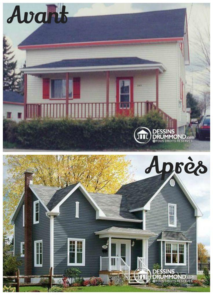 91 best images about plan de r novation plan d 39 agrandissement de maison on pinterest house. Black Bedroom Furniture Sets. Home Design Ideas