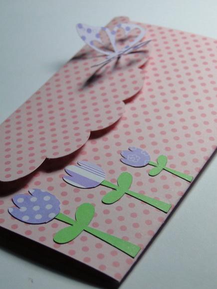 Convite em papel de Scrapbook