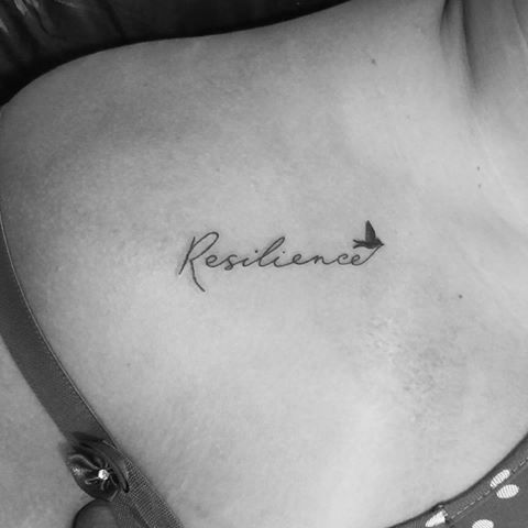 Resultado de imagen para resiliente tatuaje
