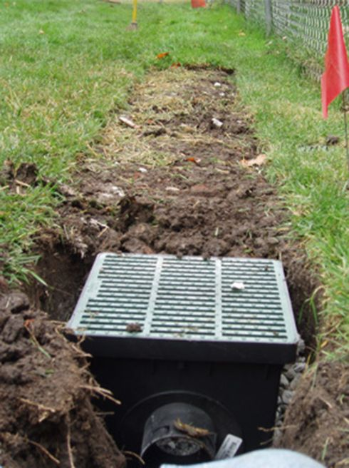 1000 ideas about drainage solutions on pinterest rain for French drain in yard