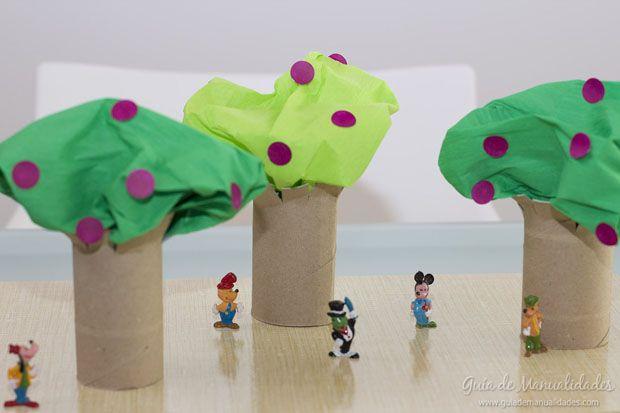 1169 best tre images on pinterest adorable animals - Manualidades para ninos reciclaje ...