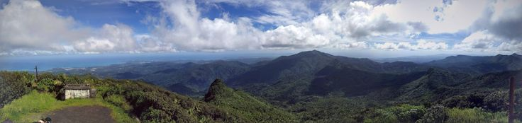 Picture taken by me this January El Yunque Peak El Yunque National Forest Puerto Rico #hiking #camping #outdoors #nature #travel #backpacking #adventure #marmot #outdoor #mountains #photography