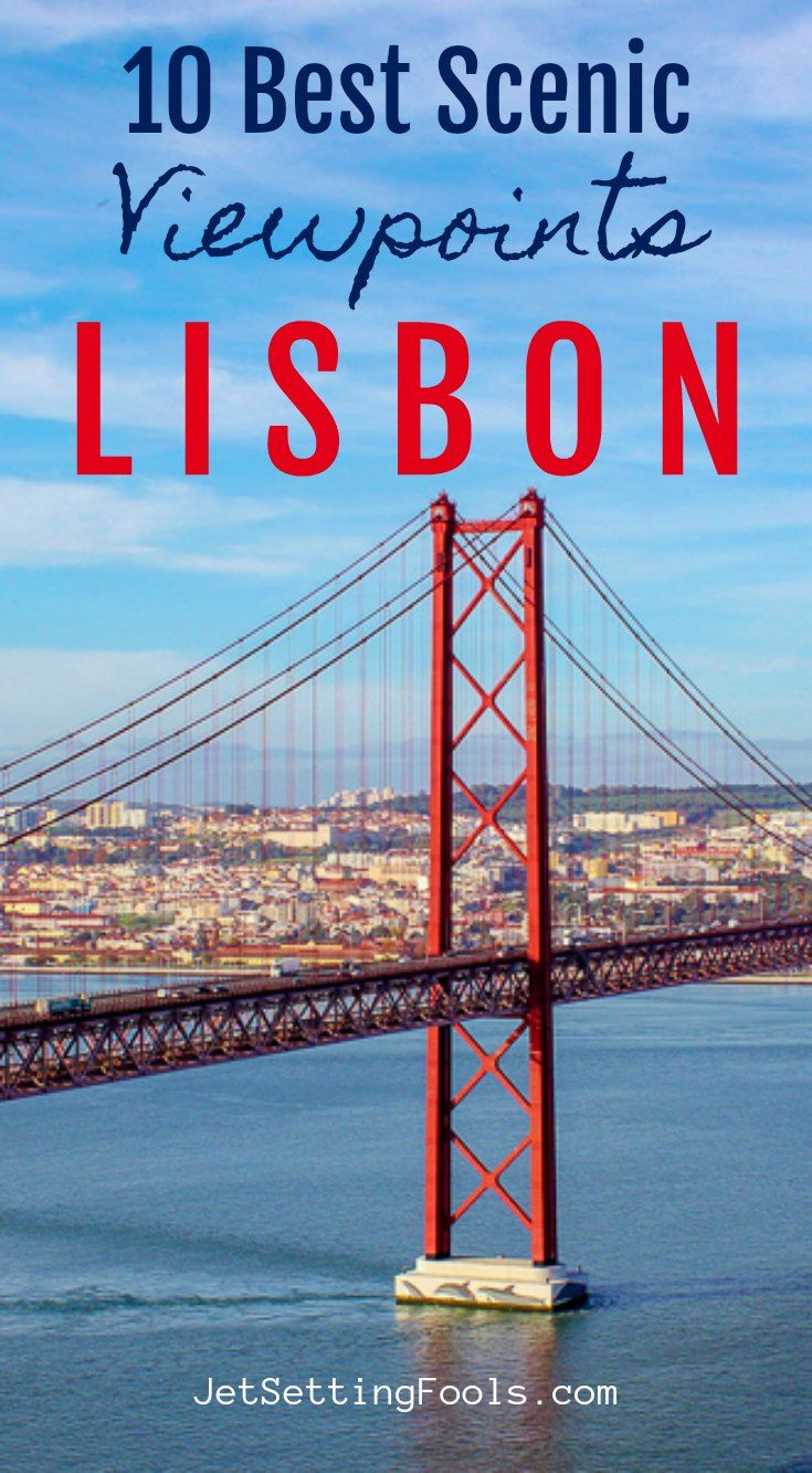 Our list of 10 scenic Lisbon viewpoints is really two lists: Miradouro Lisbon and Lookout Lisbon. The miradouros are listed first, then the lookout points. We think these viewpoints are the most beautiful places in Lisbon (and the best photo spots in Lisbon, too!). To help you find your way, we have included all of the locations on a Lisbon Viewpoints map