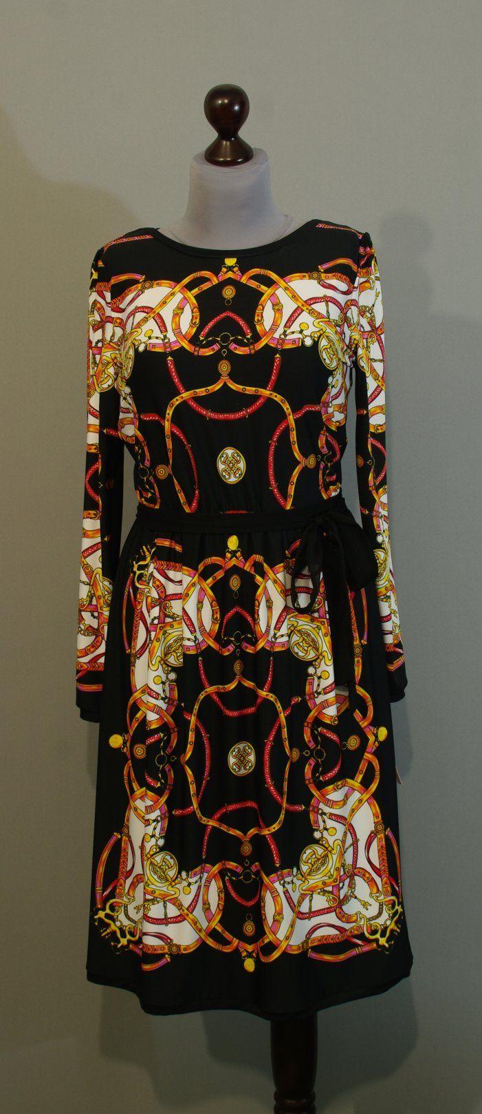 Черное платье в стиле Hermes, Украина купить интернет (104)