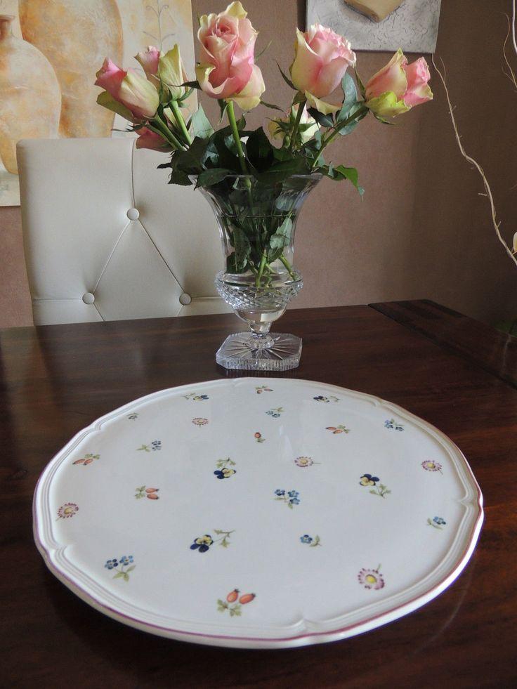 villeroy boch petite fleur tortenplatte geb ckteller. Black Bedroom Furniture Sets. Home Design Ideas