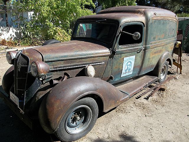 1936 dodge panel truck for sale tractors and equipment. Black Bedroom Furniture Sets. Home Design Ideas