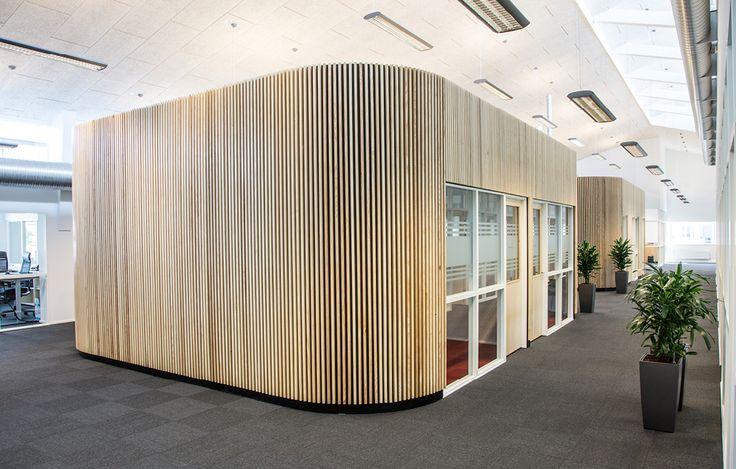 Ombygning af kontorer hos Totalentreprenøren JFP