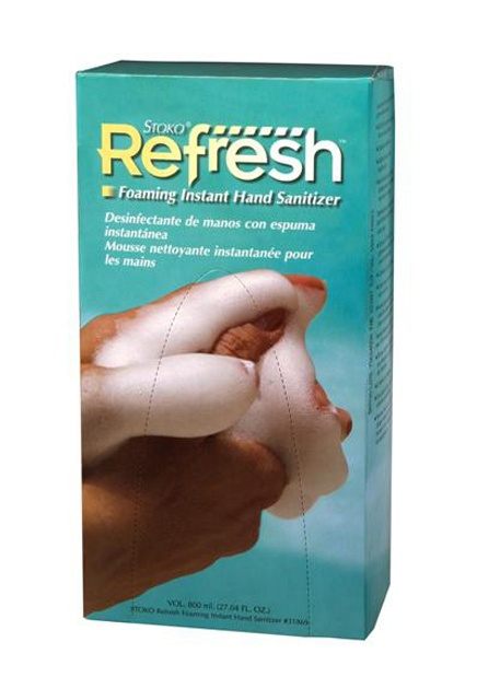 Stoko Refresh, Foaming Instant Hand Sanitizer: Foaming Instant Hand Sanitizer