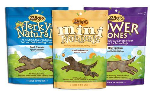 Zukes Dog Treats #dogtreats #natural #zukes