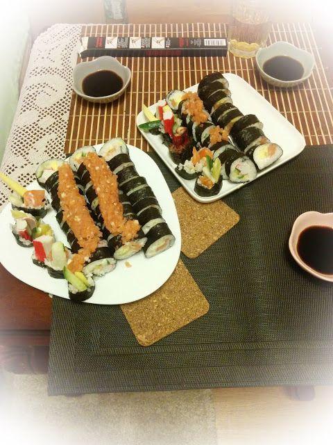 W kuchennym oknie Ewy: Sushi-krok po kroku