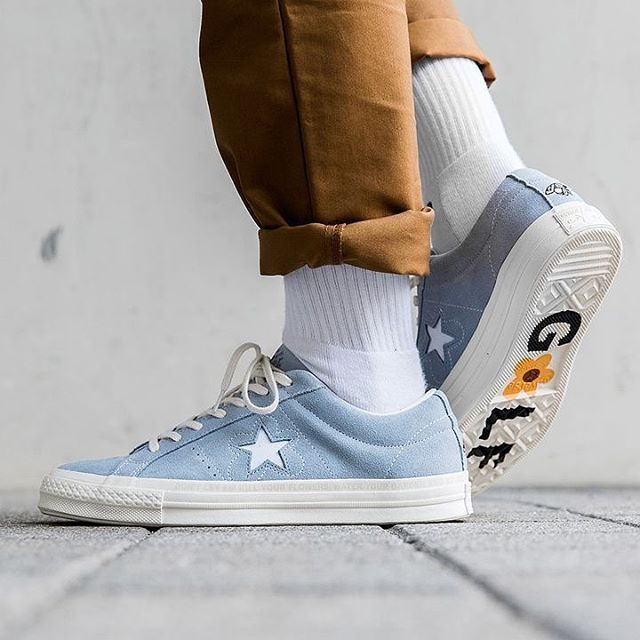 Tyler's Golf le Fleur #Converse One Stars is just too attractive #Repost- #sneakerfreakermag via ELLE HONG KONG MAGAZINE OFFICIAL INSTAGRAM - Fashion Campaigns Haute Couture Advertising Editorial Photography Magazine Cover Designs Supermodels Runway Models