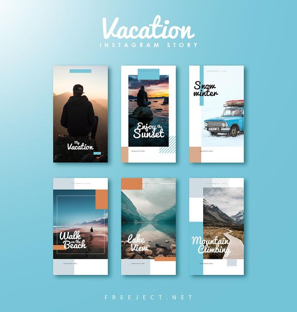 Freeject Net Free Download Vacation Instagram Story Template Instagram Story Template Instagram Story Instagram Template