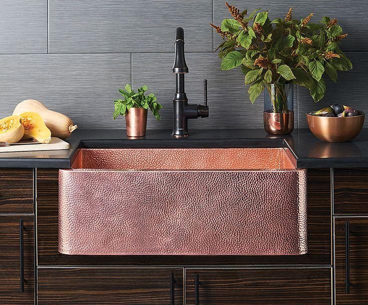 rustic copper kitchen sink the 25 best copper kitchen sinks ideas on pinterest copper