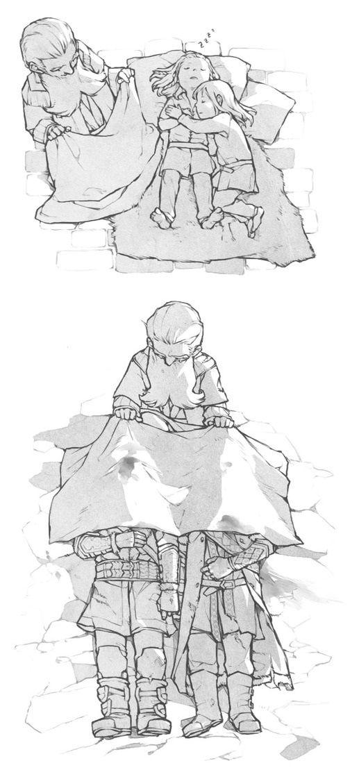 """""""Sleep well"""" Balin covering Fili and Kili, when they are children sleeping, and when they are... are.. I can't say it. NO NO NO NO NO NONONONONO NOO NNOOOO NNNNNNNOOOOOOOOOOOOO"""