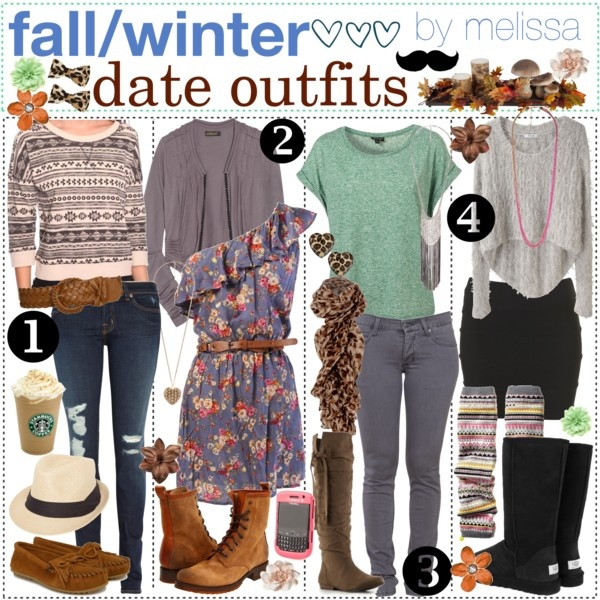 """fall // winter date outfits (:""Closets Ideas, Outfit Ideas, Fall Winte Outfit, Date Outfits, Dates Outfit, Winter Outfit, The Polyvore Tipgirl, Fall Fashion, Fall Winter"