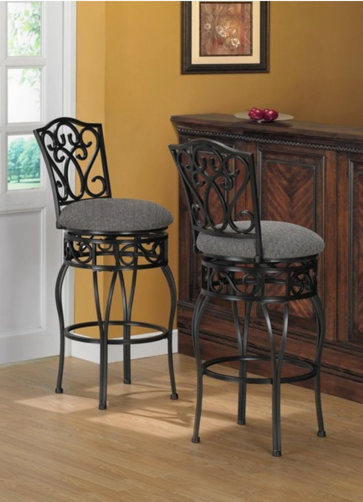 Bar Stools Swivel Chairs Kitchen Dining Room Table