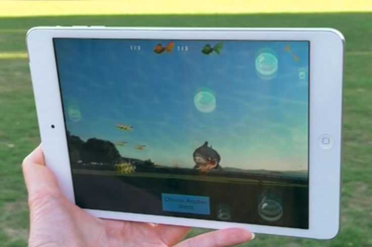 One Kiwi company has come up with a way to get kids exercising while they play on their iPads. It involves a shark and a park.