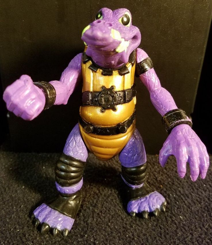 1990 Hasbro Action Figure Bucky O'Hare & The Toad Wars - Al Negator #Hasbro