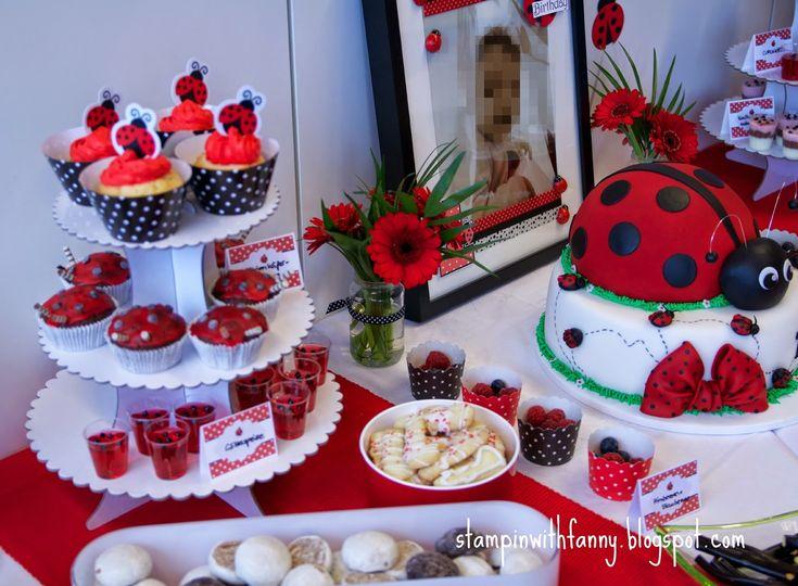 stampin with fanny: Marienkäfer-Geburtstag: Die Candybar (das Herzstück!)