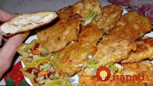 Kuracie rezne naruby: Najskôr ich opražím a až potom obalím v zemiakovom cestíčku, takú pochúťku vám nedajú ani v reštaurácii!