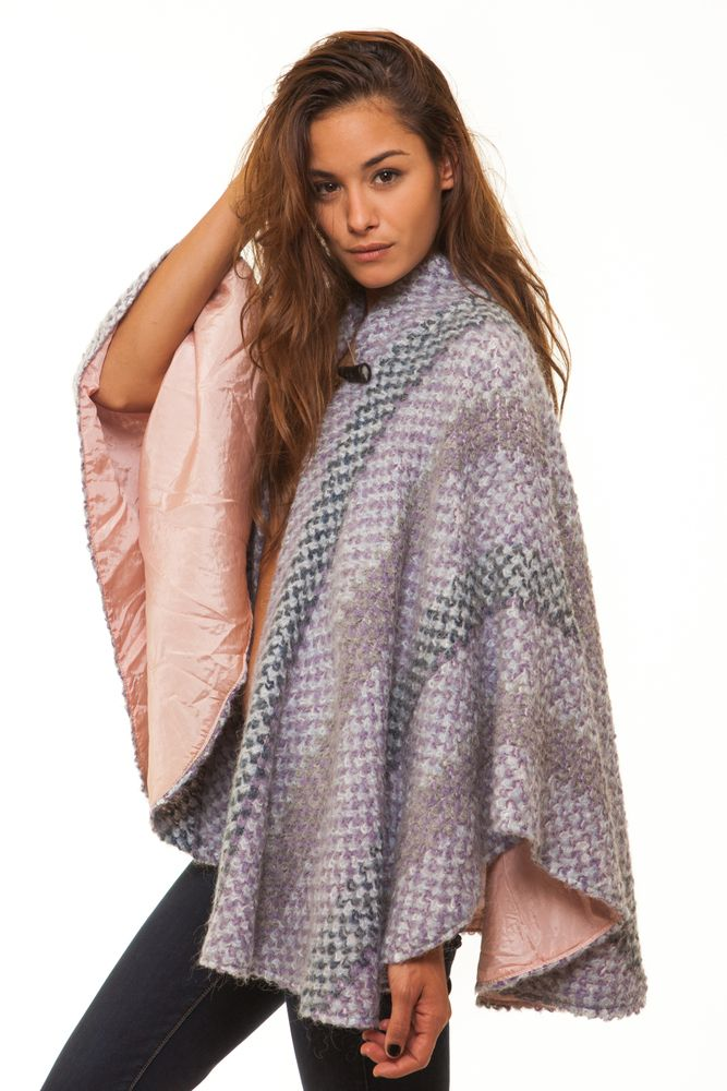 Image of Missoni style cape