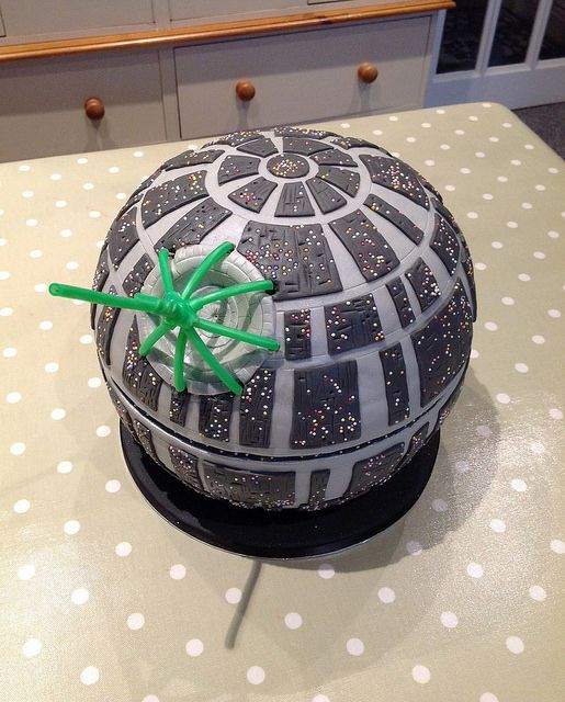 1000 Ideas About Death Star Cake On Pinterest Birthday