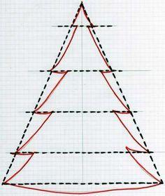 Weihnachtsbaum aus Holz , Weihnachtsdeko: Holz-Weihnachtsbaum