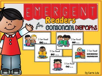 Fun Emergent Readers!  Your students will be begging for more!I created this product for my beginning and struggling readers.  I wanted them to practice the digraph sounds after I introduce them.  I also wanted these emergent readers to be somewhat interactive.