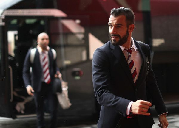 Alvaro Negredo Photos - Alvaro Negredo of Middlesbrough arrives for the Premier League match between Middlesbrough and Chelsea at Riverside Stadium on November 20, 2016 in Middlesbrough, England. - Middlesbrough v Chelsea - Premier League