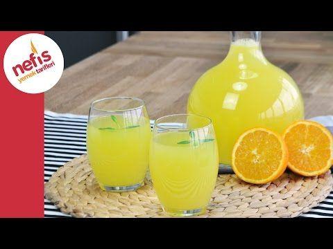 1 Portakal 1 Limon ile Limonta Yapımı | Pratik Limonata Tarifi - YouTube