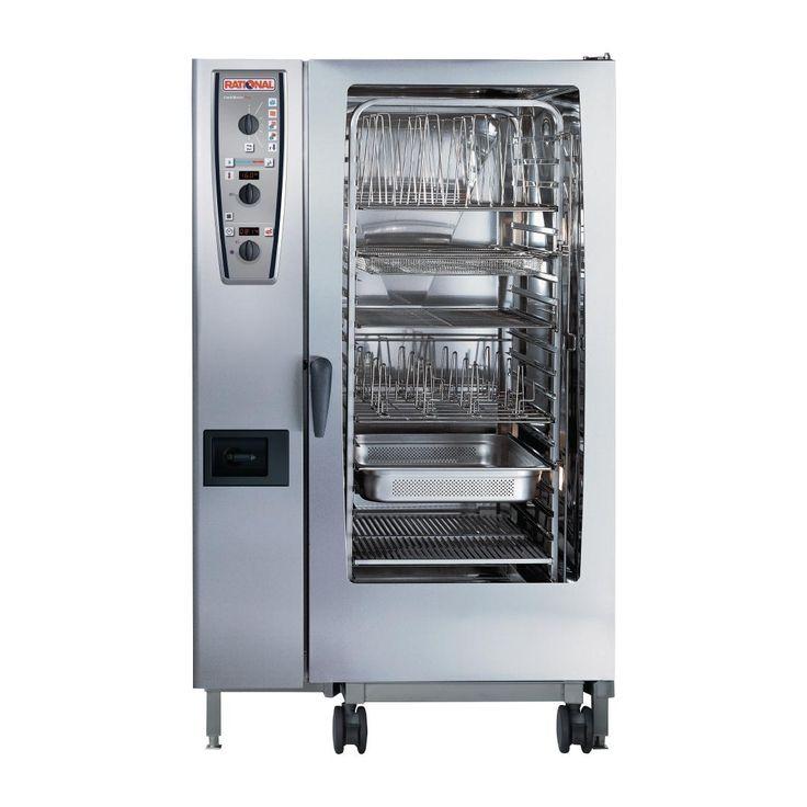 Rational CMP202E 20 Grid CombiMaster Plus 2/1GN Electric Combination Oven - GJ090