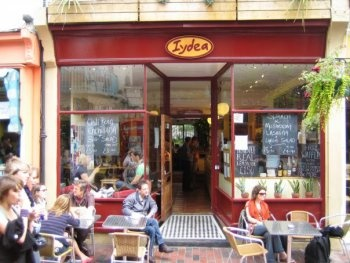 Iydea - my favourite Veggie cafe - in Brighton North Laine