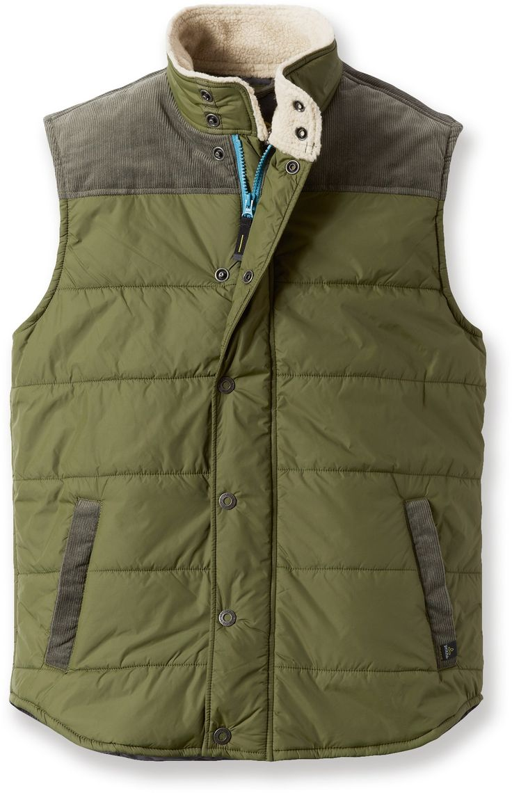 The Waylen vest from prAna is a great layer for those cooler days on campus. #REIcampusguide