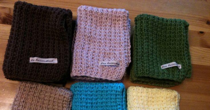 Mariannes kreative univers: Strikke, strikke, strikke - oppvaskkluter....