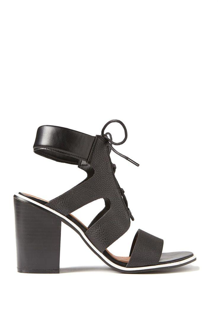 White sandals rubi shoes - Giant Card Blank
