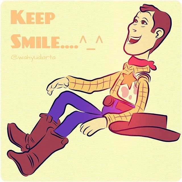 """Keep smile"" #art #artwork #artworkoftheday #sketch #artline #vectorart #adobeideas #woody #toysstory #wahyudiarta"