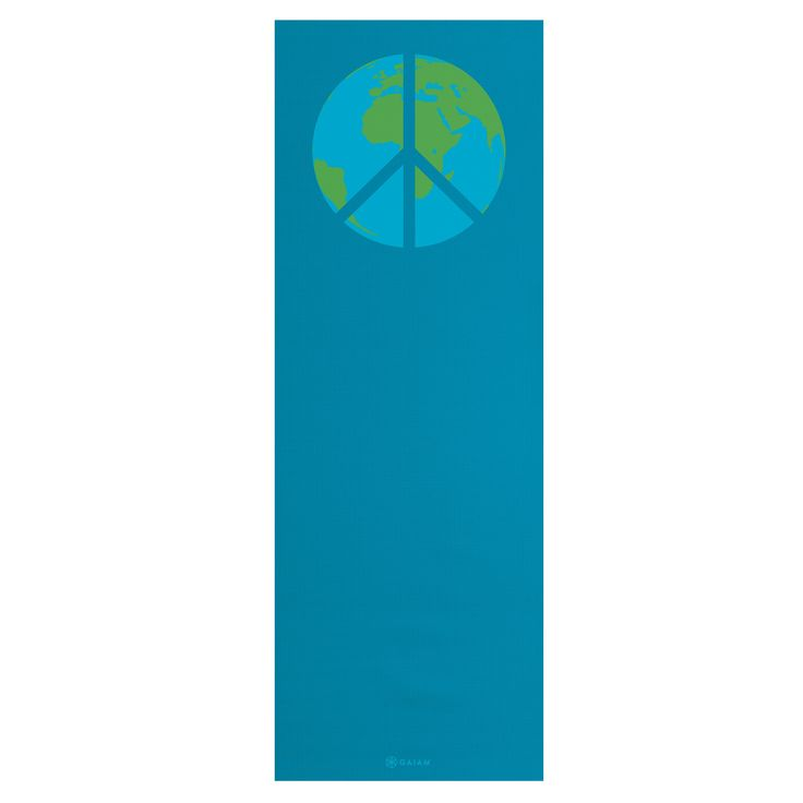 Have to have it. Gaiam Peace on Earth Eco Yoga Mat $18.99Gaiam Peace, Positive Change, Eco Yoga, Earth Eco, Yoga Mats, Mats 18 99