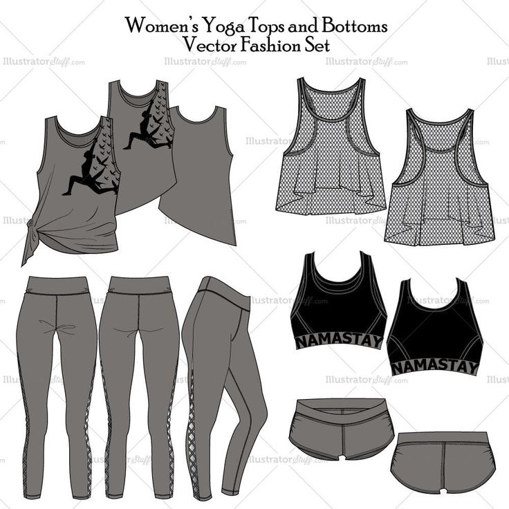 Women's Yoga Tops And Bottoms In 2019