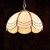 Brass Pendant Lamp, One Light, Tiffany Total ... – EUR € 164.99