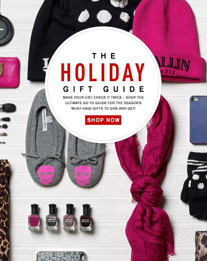 The Holiday Gift Guide | Revolve Clothing Email Design