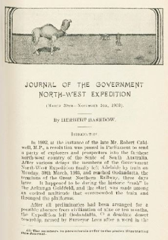 Journal of the Government North-West Expedition, 1914.   http://encore.slwa.wa.gov.au/iii/encore/record/C__Rb1335191__So00774__Orightresult__U__X3?lang=eng&suite=def
