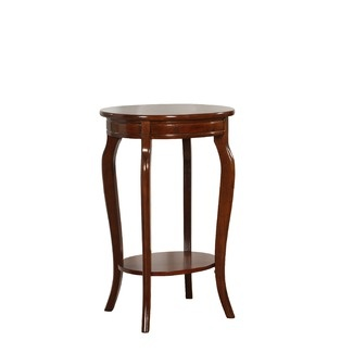 Powell oval accent table in medium mahogany living room for ladies gentlemen pinterest for Mahogany side tables living room
